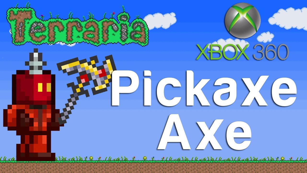 Terraria Xbox Pickaxe Axe 135