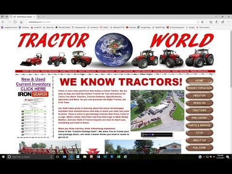 www.Vahrenberg.com Website & Tractor World Information Resource Forum
