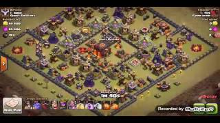 3 stars-3 stelle -th10-bowler-minatori-clash of clans#