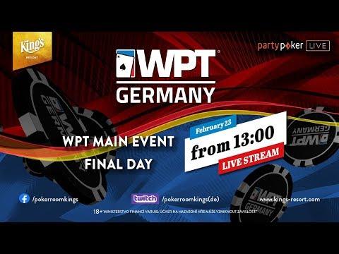 Главное событие WPT Germany 2020 | Финал