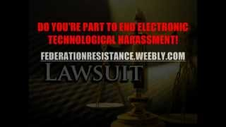 F.R.G.E.H.O.P. Greg Gamache Electronic Technological Harassment LAWSUIT Promotion (With Music)