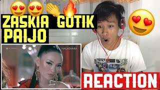 Zaskia Gotik Paijo feat RPH and Donall REACTION