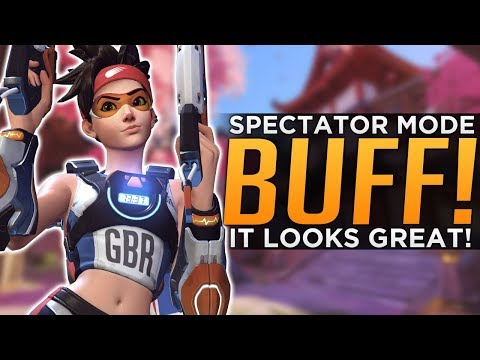 Overwatch: NEW Spectator Mode Looks GREAT!