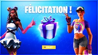 VOICI ALL FREE GIFTS TO RE-SER ON FORTNITE!