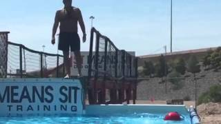 Dog Training Game In Your Pool!
