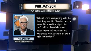 We Need to Talk: Phil Jackson on his LeBron James comments