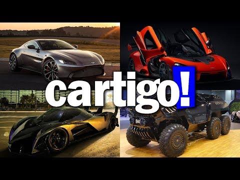 Cartigo! #31 - McLaren Senna, AM Vantage, Devel Sixteen e Sixty | ApC