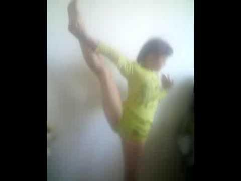 гимнастика, Оля 10 лет