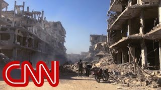 Video shows Syrians affected by chemical attack