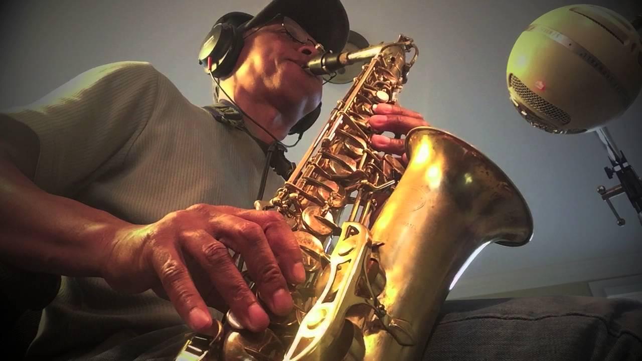 Prince - Purple Rain - [Acoustic] - (Saxophone Tribute by James E ...