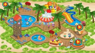 Ayo main game Waterboom yuk - Game buat anak anak | pergi ke Waterboom bersama papa dan mama