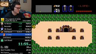 Pretty good Zelda 1 speedrun - 28:32