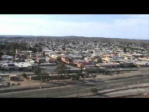 Broken Hill New South Wales Australia Miners Memorial And View From It
