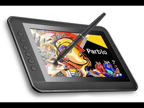 parblo mast 10 graphic tablet monitor review this thing is awesome