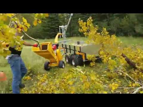 Range Road RR400 Wood Chipper