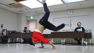 Connect Cup vol.4 Judge Move ZAKAO a.k.a  kill power(CAMASSIC FLOOR・style wars)