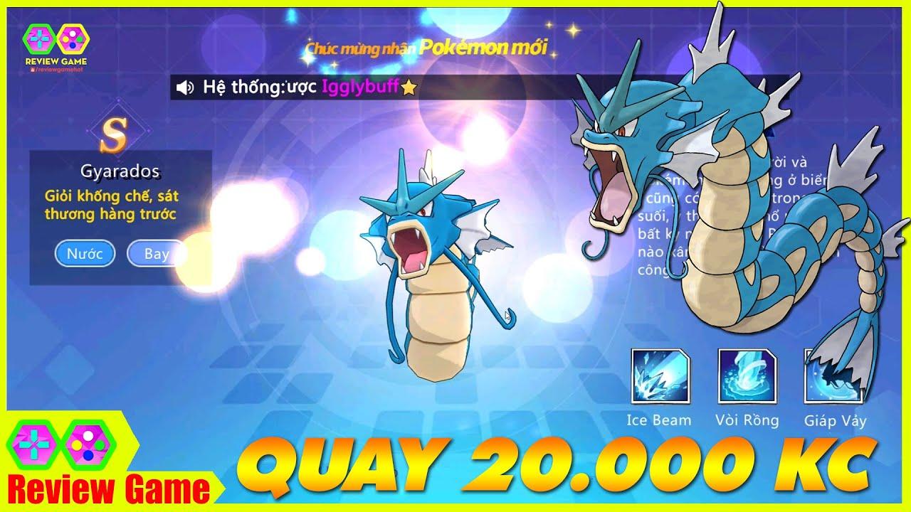 Thần Thú 3D – Dùng 15.000 Kim Cương Quay X10 Pokemon & Cái Kết Cực Tê Tái