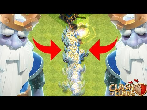 KÖNIGSGEISTER ONLY! 😱😱 Clash Of Clans ⭐️ Coc