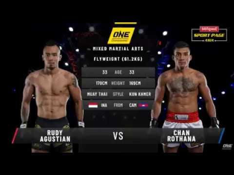 Rudy Agustian VS Chan Rothana One Championship