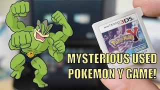 The Shiny Mystery of a Used POKEMON Y Game…