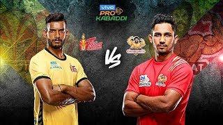 Pro Kabaddi Highlights: Gujarat Fortunegiants Beat Telugu Titans   Sports Tak