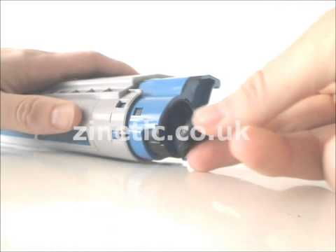 How to refill and reset the OKI C5650 / C
