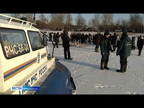 Видео В крещенские купания в Ярославле организуют меддежурство