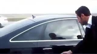 Şehit Lider Muhsin Yazıcıoğlu Araçta namaz kılıyor Rabbim rahmet eylesin