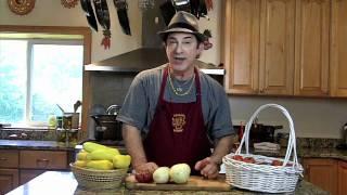 Humorous Motivational Speaker Makes Squash Casserole