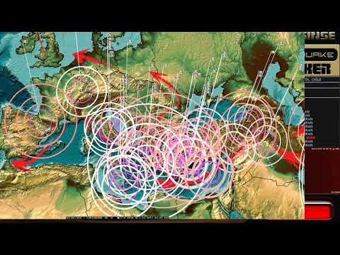 10/22/2017 -- Earthquake Forecast -- Expect new deep earthquakes -- California + Midwest USA unrest