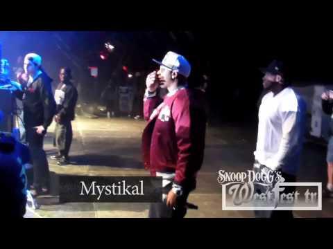 Snoop Dogg feat. Mystikal, Mr. Magic, KLC LIVE from New Orleans LA Voodoo Festival 10/29/2011