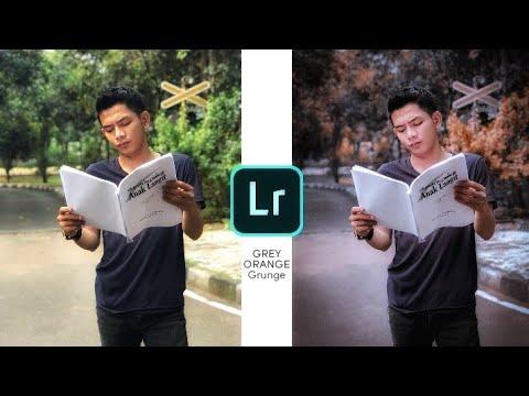 Rumus Dual Editing Filter Moody Grey Orange | Lightroom Mobile