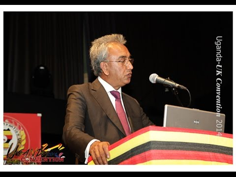 Lord Popat speech at the Ugandan Investment Convention in UK - 13th Sept 2014