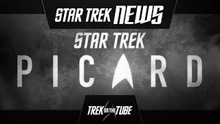 STAR TREK NEWS - Picard Footage Leak and Title Reveal