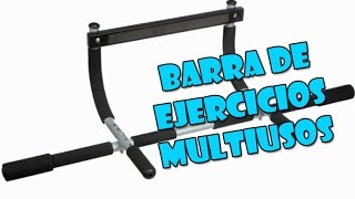 BARRA DOMINADAS 4 EN 1 | UNBOXING y Análisis en ESPAÑOL