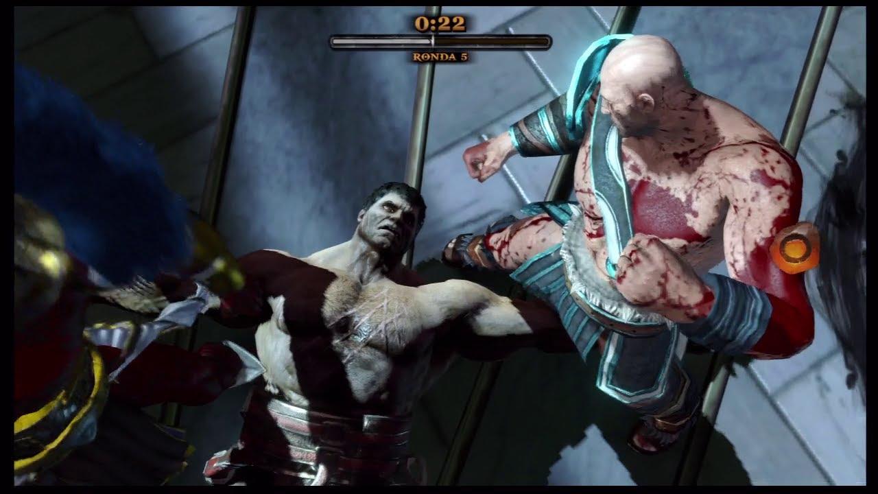 GOW Ascension - Online Venciendo a Hercules - Arena ...