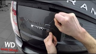 How to Remove Cąr Emblems