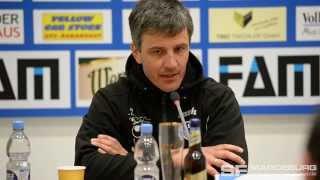 Pressekonferenz - 1. FC Magdeburg gegen Berliner AK 07 1:0 (0:0) - www.sportfotos-md.de