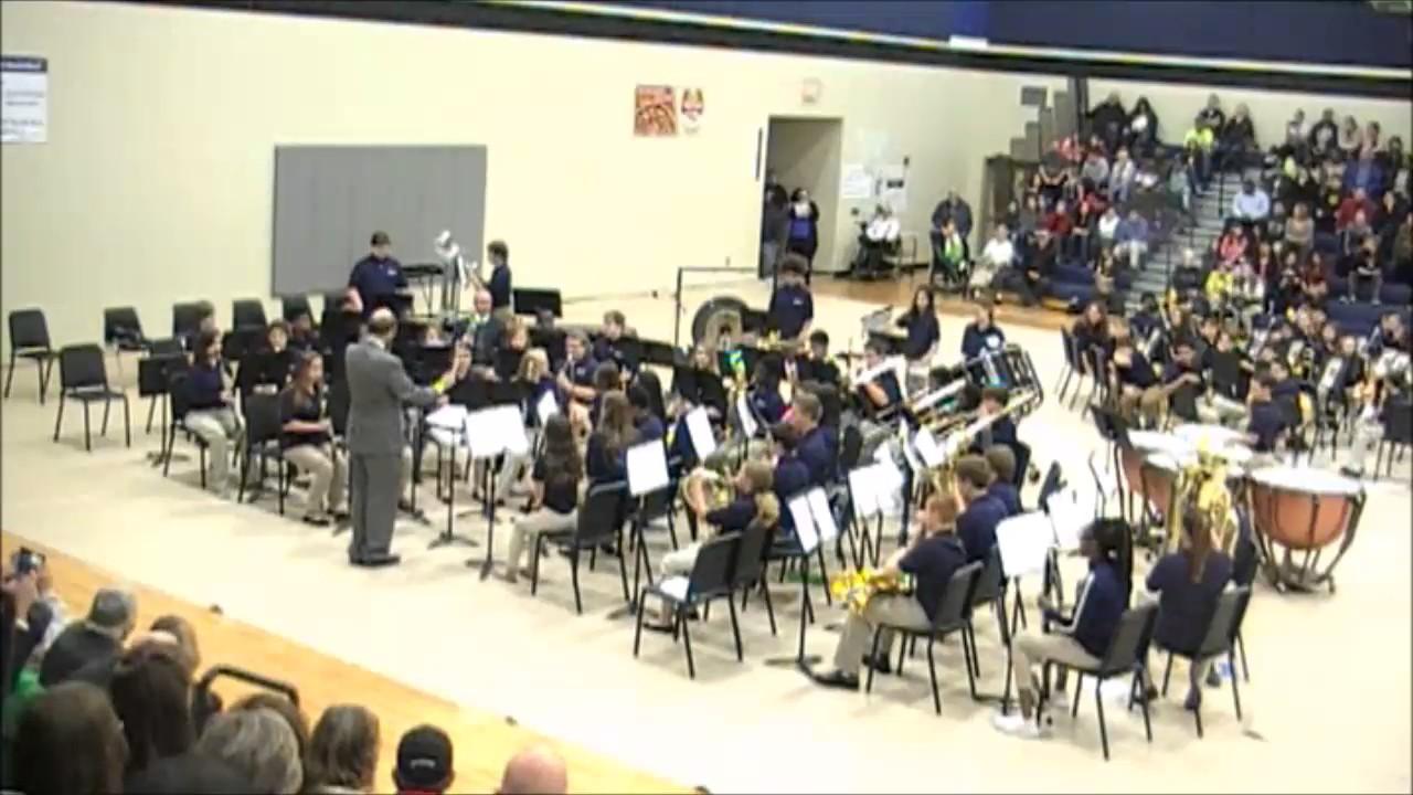 Carolina Springs Middle School 8th Grade Band, Fall Concert 2016 ...