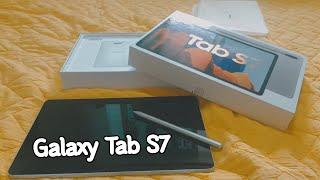 갤럭시 탭 S7 ! 북커버, 구매이유, 악세사리, 초기…