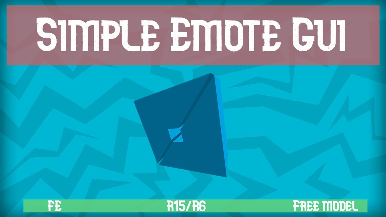 How To Make An Animation Gui In Roblox How To Make A Simple Emote Gui In Roblox Fe Works R6 R15 Youtube