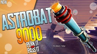 FORTNITE | *NEW* CLUB MELEE WEAPON : THE ASTROBAT 9000 | Perk It or Pass It?