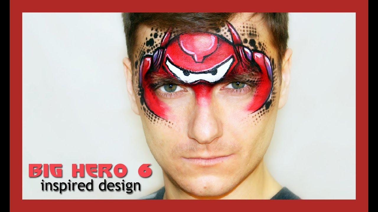 """""""Big Hero 6"""" Baymax — Disney Character Face Painting"""