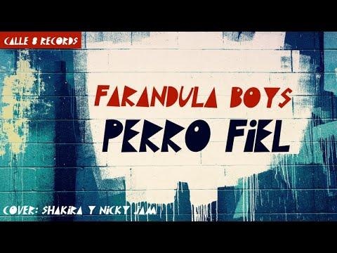 SHAKIRA, NICKY JAM - PERRO FIEL - (COVER BY FARANDULA BOYS) REGGAETON 2017 / 2018