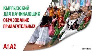 Кыргызский язык для начинающих | Прилагательные