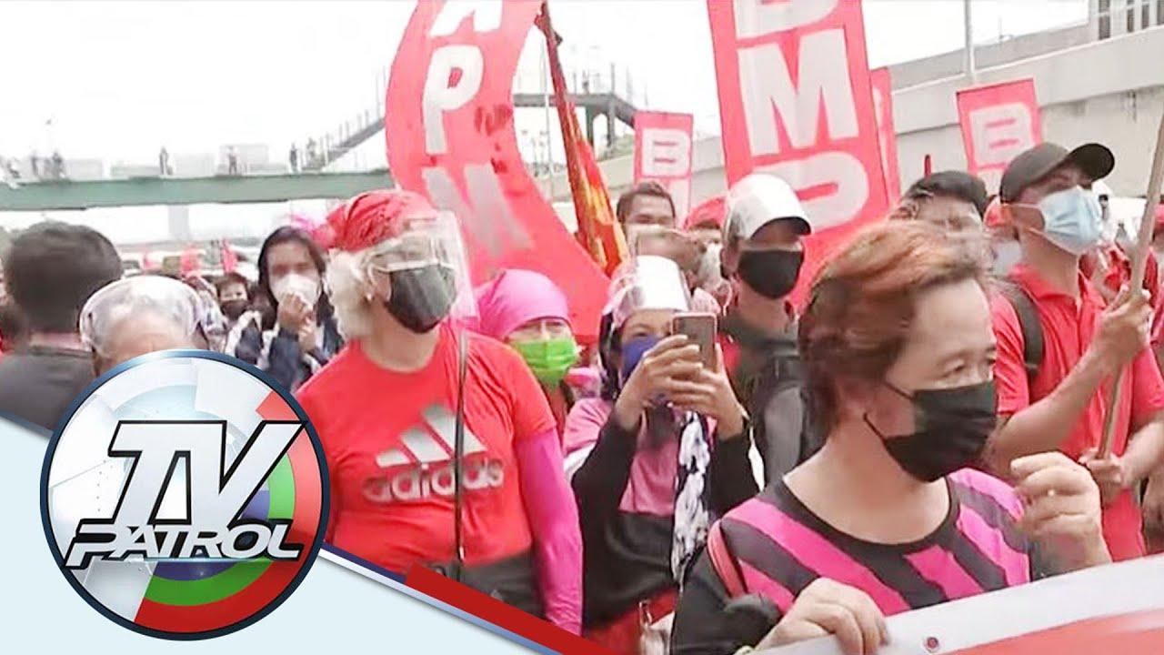Download PANOORIN: Ilang eksena sa protesta sa huling SONA ni Duterte   TV Patrol