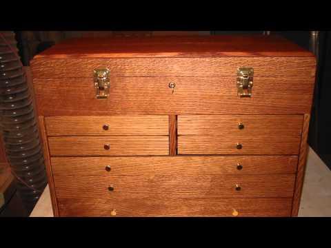Building Oak Tool Boxes