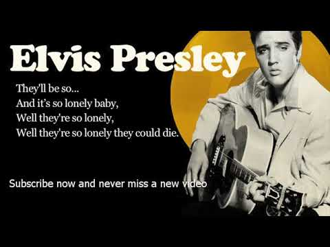 Elvis Presley   Heartbreak Hotel   Lyrics