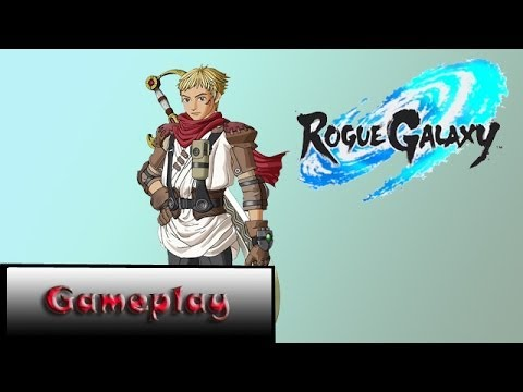Rogue Galaxy(PS2) - Um ótimo RPG de Ação! - Gameplay By EliasXD