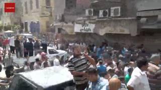 بالفيديو.. طرد مساعدي وزير الداخلية للأمن العام والأمن المركزي من إضراب الأمناء بالشرقية